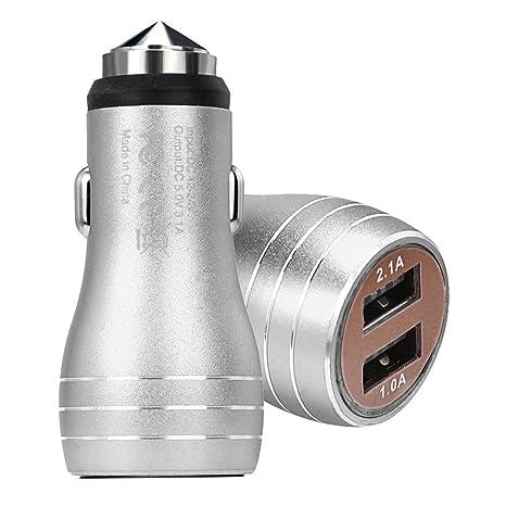 Cargador de Coche EUzeo 2 Port 12V USB Auto Encendedor de ...