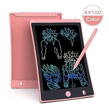 Arolun Tableta de Escritura LCD 8.5 Inch Colorida, LCD Tablero de ...