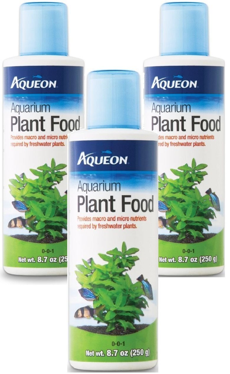 Aqueon Aquarium Plant Food, 8.7-Ounce (3 Pack)