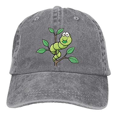 dd6c9dfc322 Amazon.com  Guk5l The Very Hungry Caterpillar Unisex Washed Pigment Dyed  Cotton Low Profile Dad Hats Vintage Style Adjustable Caps  Clothing
