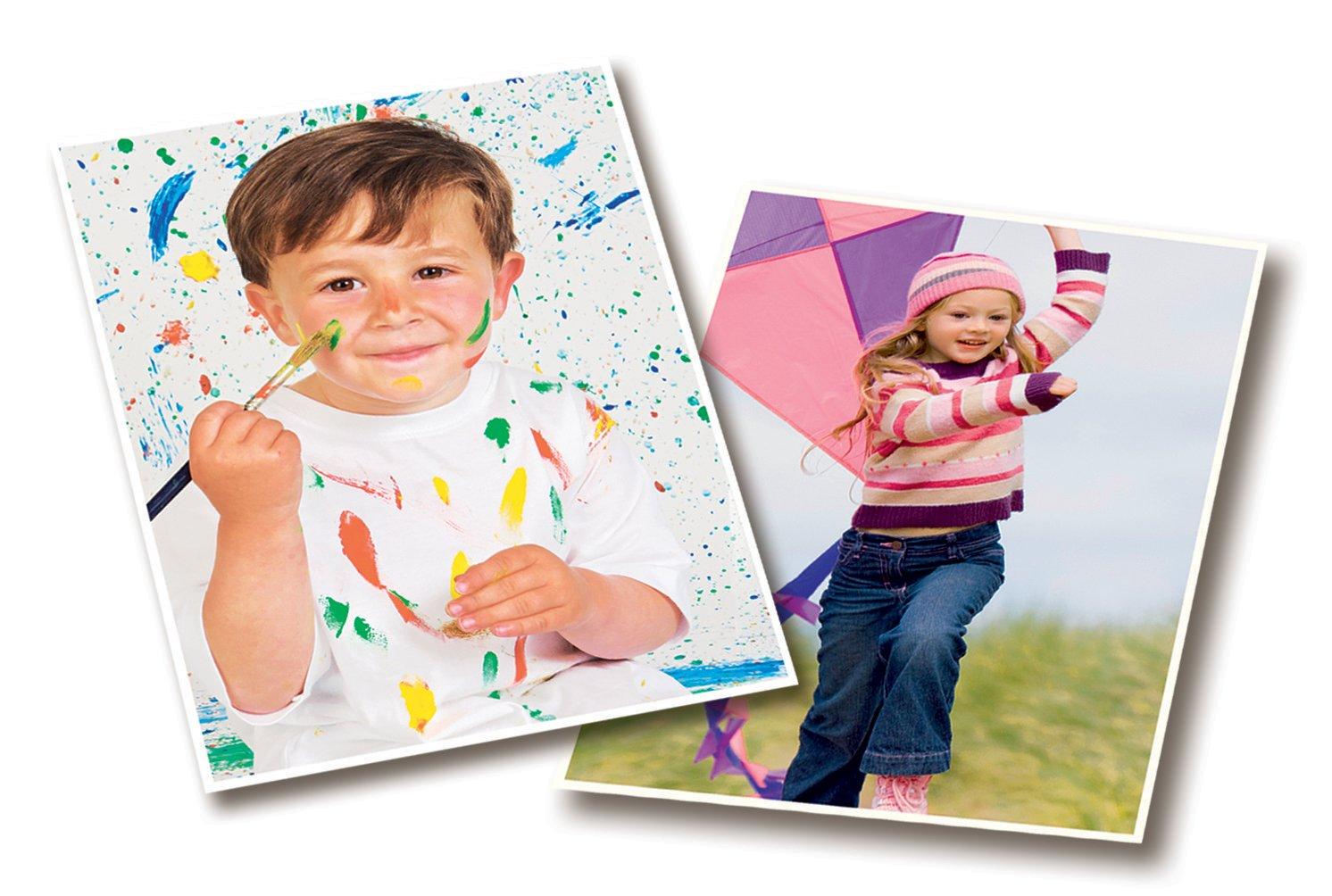 75 Blatt AVERY Zweckform 2567-75 Classic Inkjet Fotopapier A4, einseitig beschichtet, gl/änzend, 125 g//m/²