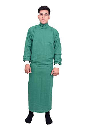 Surgeon gown Green Color   Surgical Gown for Hospital   Hospital ...