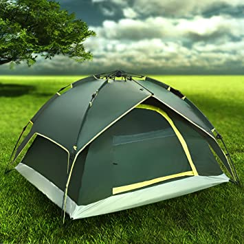 Flexzion Instant Dome Tent - 2-3 Person Automatic Double Layer Waterproof for Outdoor Sports & Amazon.com : Flexzion Instant Dome Tent - 2-3 Person Automatic ...