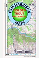 Golden Trout Wilderness Trail Map: Shaded-Relief Topo Map (Tom Harrison Maps) Map