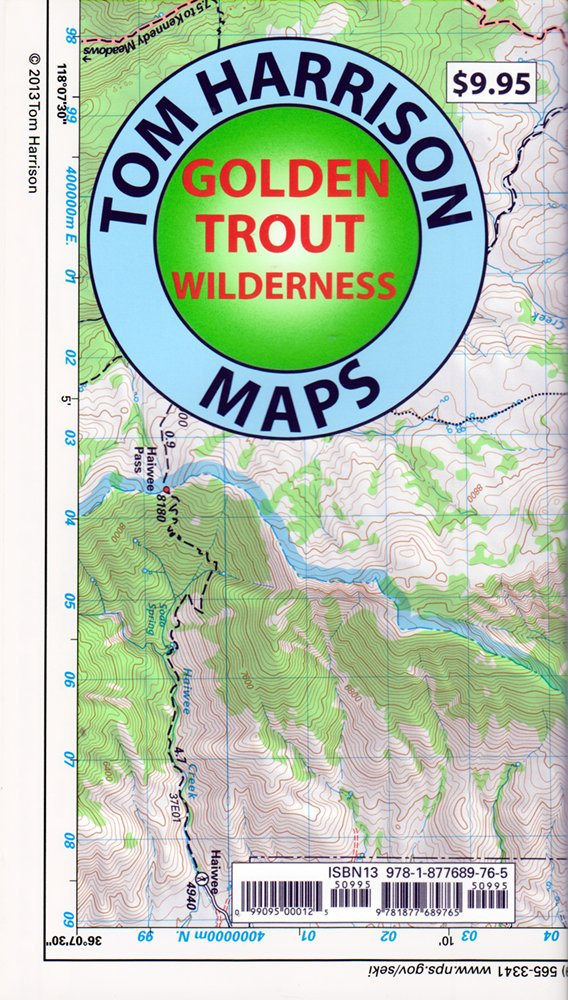 Golden Trout Wilderness Trail Map: Shaded-Relief Topo Map (Tom ... on map of tulare county, map of ventura county, map of young county, map of el dorado county, map of stone county, map of san bernardino county, map of missouri county, map of natrona county, map of grant county, map of chattooga county, map of fisher county, map of washington county, map of los angeles county, map of routt county, map of storey county, map of chicot county, map of du page county, map of tippah county, map of fresno county, map of pope county,