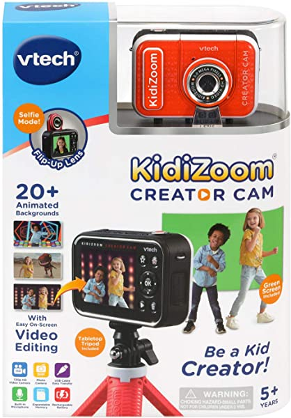 VTech KidiZoom Creator Cam camera toy for kids in package