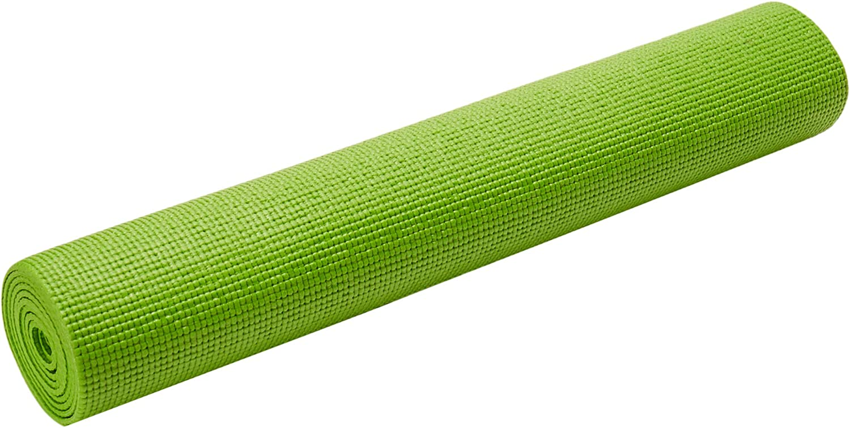 CAP Barbell HHY-CF004G Fitness Yoga Mat, Green : Sports & Outdoors