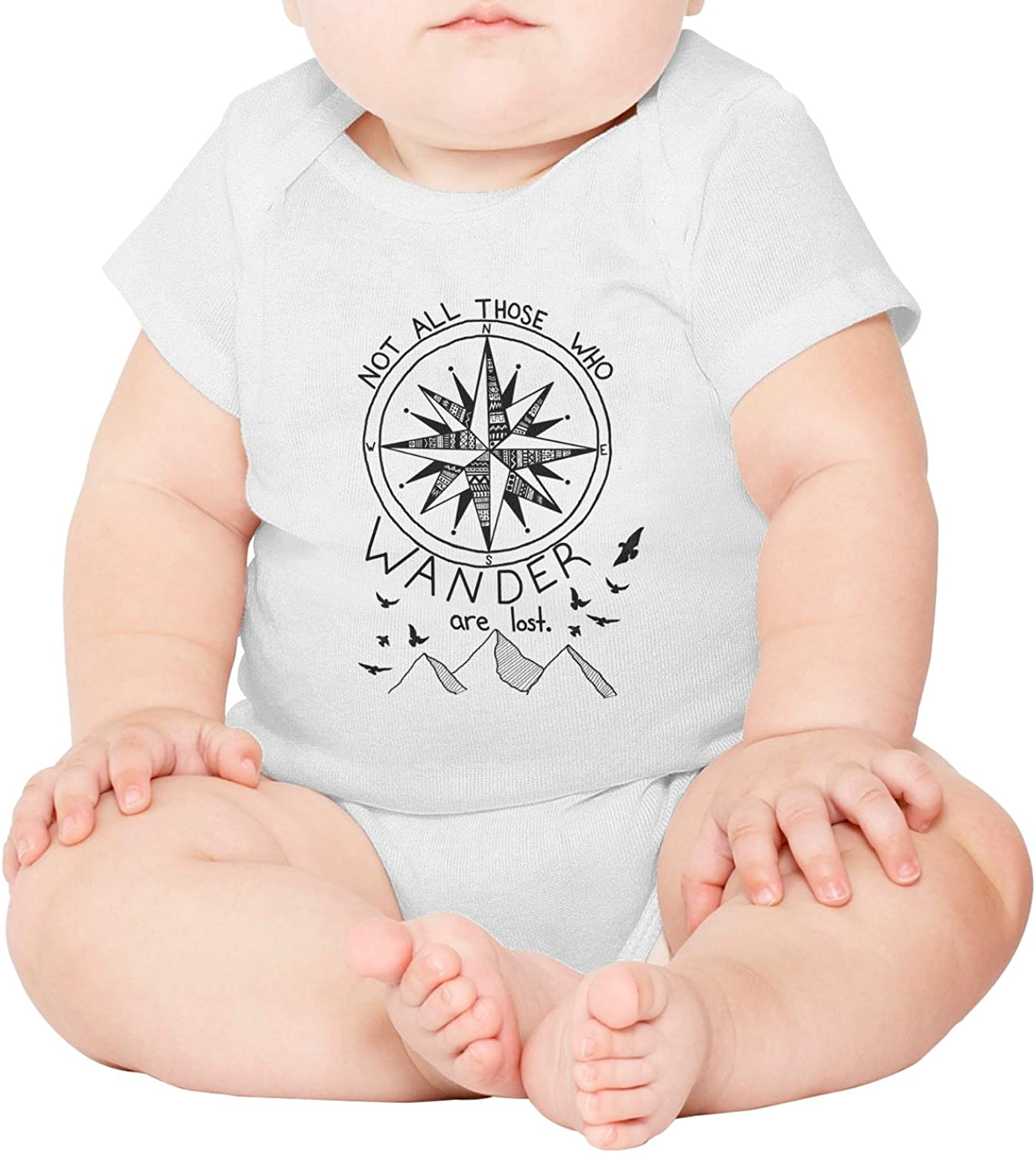 M2VIK9 Baby Romper Short Sleeve Clothes Jumpsuit Dragons Ice and Fire Bodysuit Playsuit Outfits