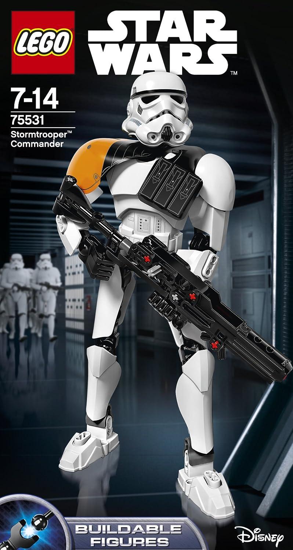 Figura de lego Comandante Stormtrooper (75531) de starwars por solo 14€
