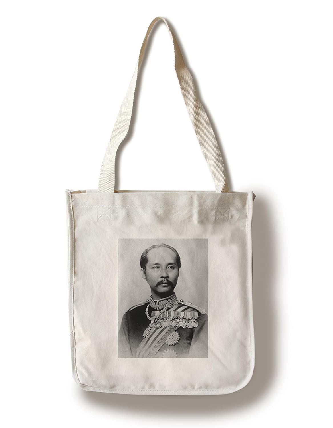 King Chulalongkorn Rama Vタイの写真 Canvas Tote Bag LANT-4687-TT B0182QRKG0  Canvas Tote Bag