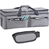 Double-Layer Bag Compatible with Cricut Explore Air (Air2) and Maker, Carrying Bag Compatible with Cricut Explore Air…