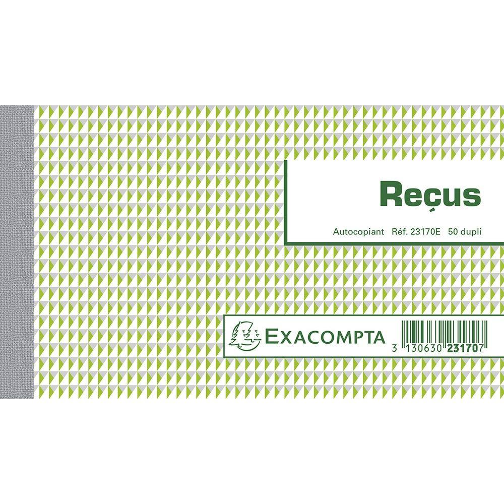 manifolds Recus – 50 fogli autocopianti – Sotto Pellicola per confezione di 5 EXACOMPTA 23170E