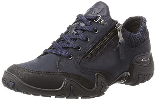 5165906308 Mephisto Allrounder Women's Fanita Training Shoes, (Black/Indaco T.Buk 1/