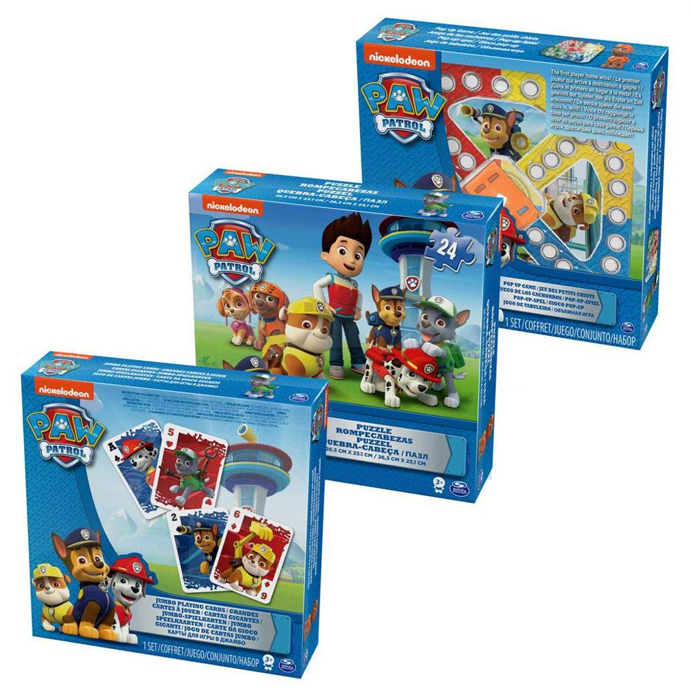 Paw Patrol Jumbo Playing Cards by Gift Item: Amazon.es ...
