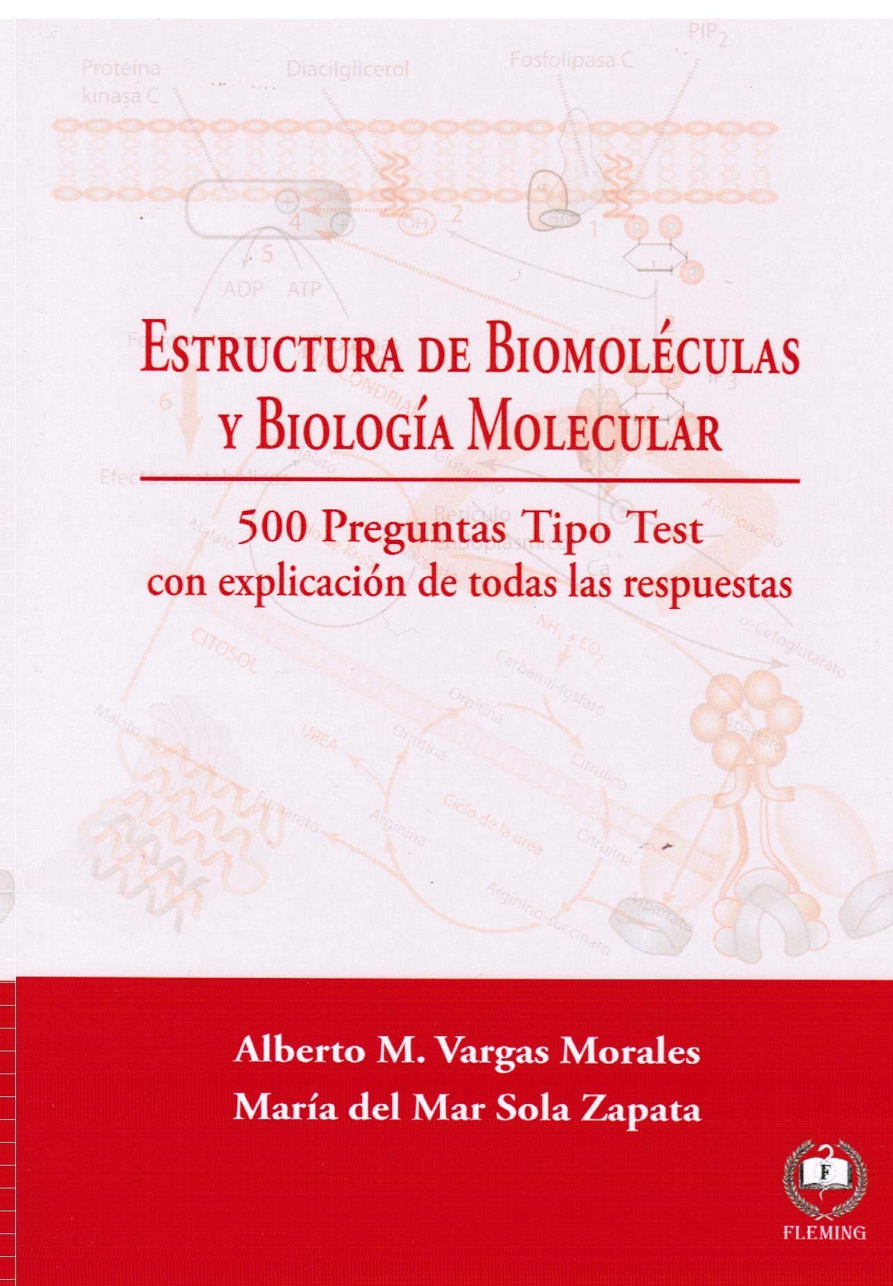 Amazon Fr Estructura De Biomoléculas Y Biología Molecular