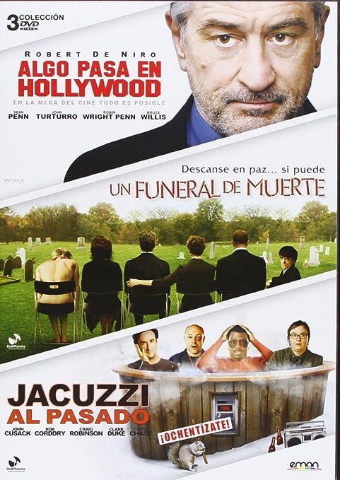 Pack: Jacuzzi Al Pasado + Un Funeral De Muerte + Algo Pasa En Hollywood DVD: Amazon.es: Bruce Willis, John Cusack, John Turturro, Robert De Niro, Robin Wright, Sean Penn, Barry Levinson, Frank
