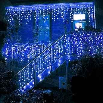 Rideau Lumineux Exterieur Noel Guirlande lumineuse, 216 LED 5 M LED cordes, Rideau lumineux, LED