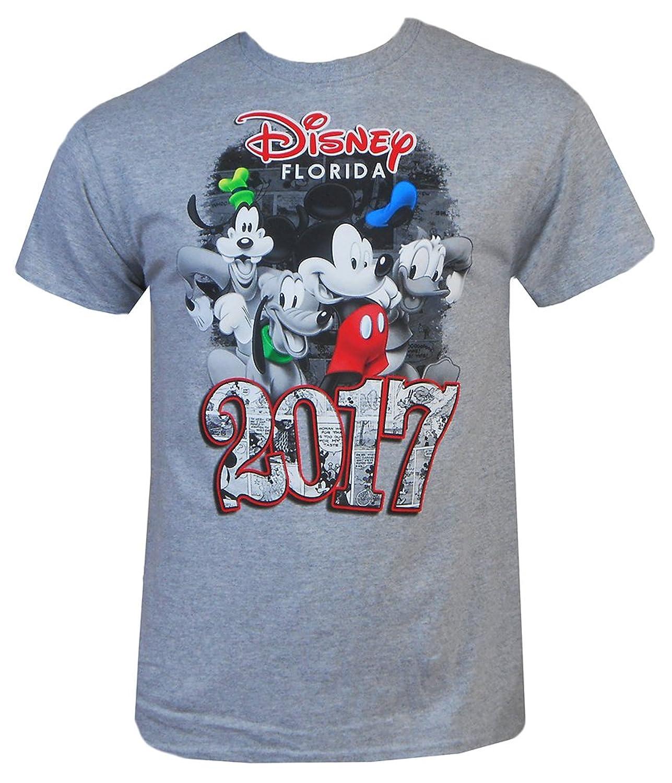 Disney Mens Adults 2017 Four Fun T-Shirt
