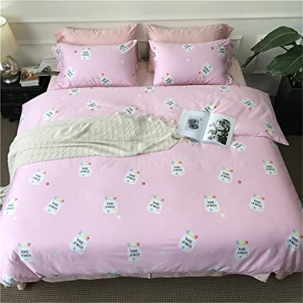 Amazon.com: Duvet Cover Collection of Lovely Hot and Cold Drink Cute ...