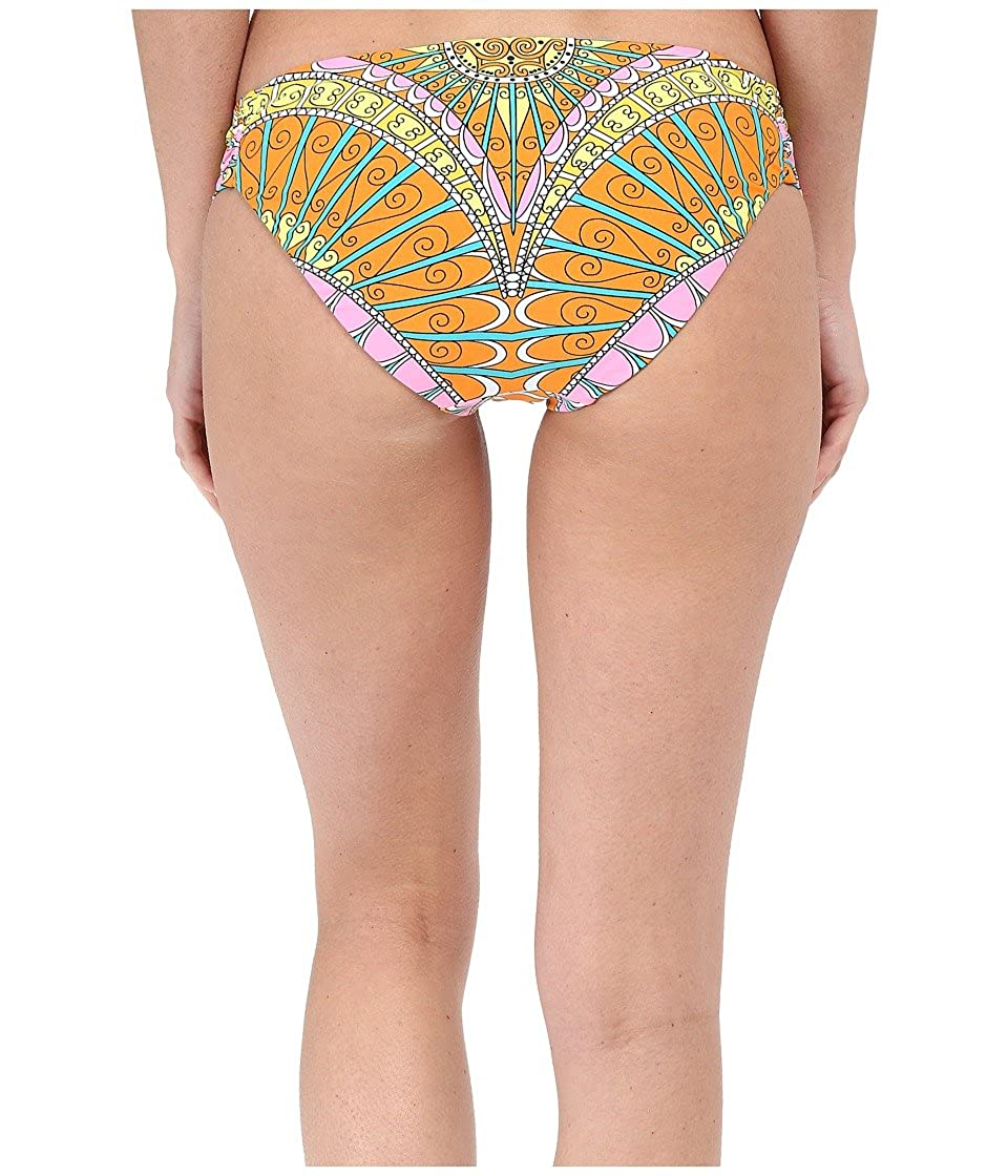 Trina Turk Womens Shirred Side Hipster Pant Bikini Swimsuit Bottom
