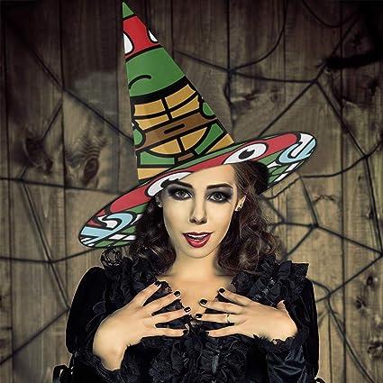 NUJIFGYTCRD - Sombrero de Bruja con diseño de Raphael con ...