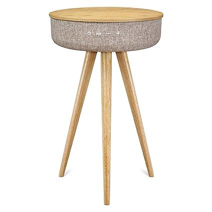 Table Basse Bluetooth Bois Victrola Gris Haut Parleur Avec – 6IbgfyY7v