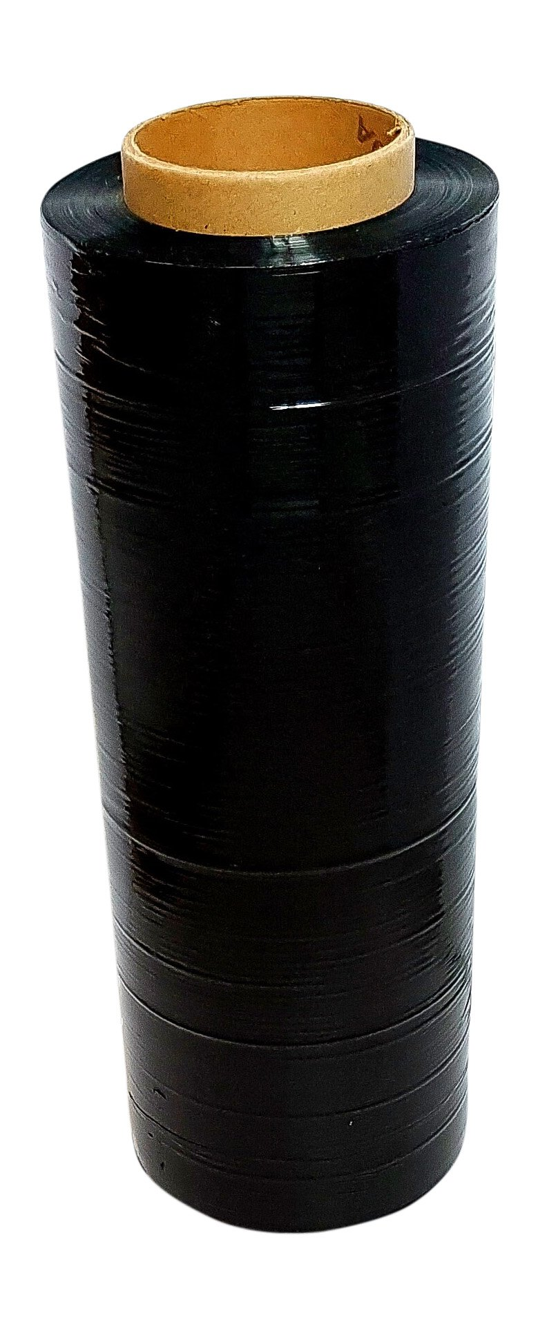 Black Pallet Wrap Stretch Film Hand Wrap with 1 Roll 75 Gauge 14'' Long x 1500 FT Long Wrap Boxes Pallets