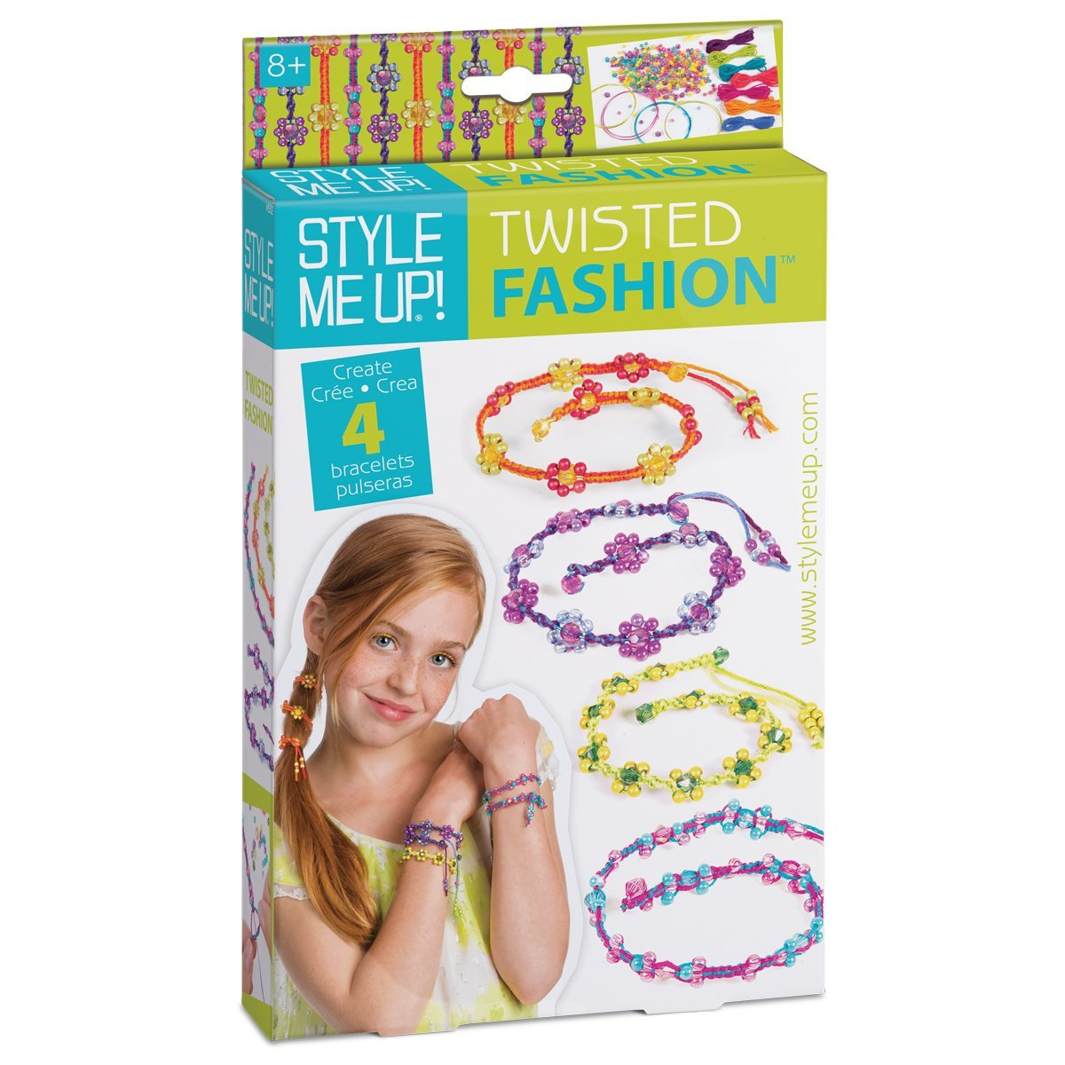 Style me up 00552 - Twistable Friendship Bracelets Wooky Entertainment S552 Toys - General