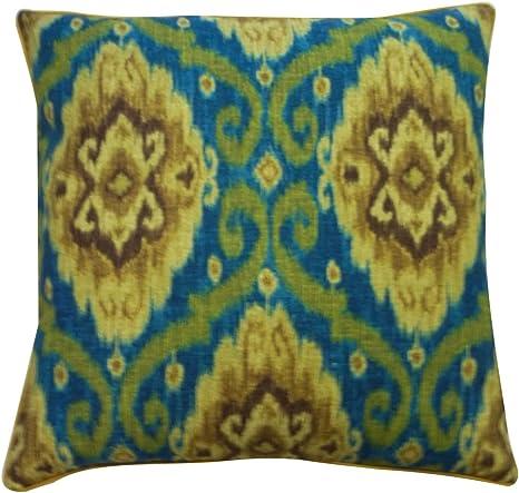 Amazon Com Jiti Kylinni Cotton Square Throw Pillow 26 Inch Jade Home Kitchen