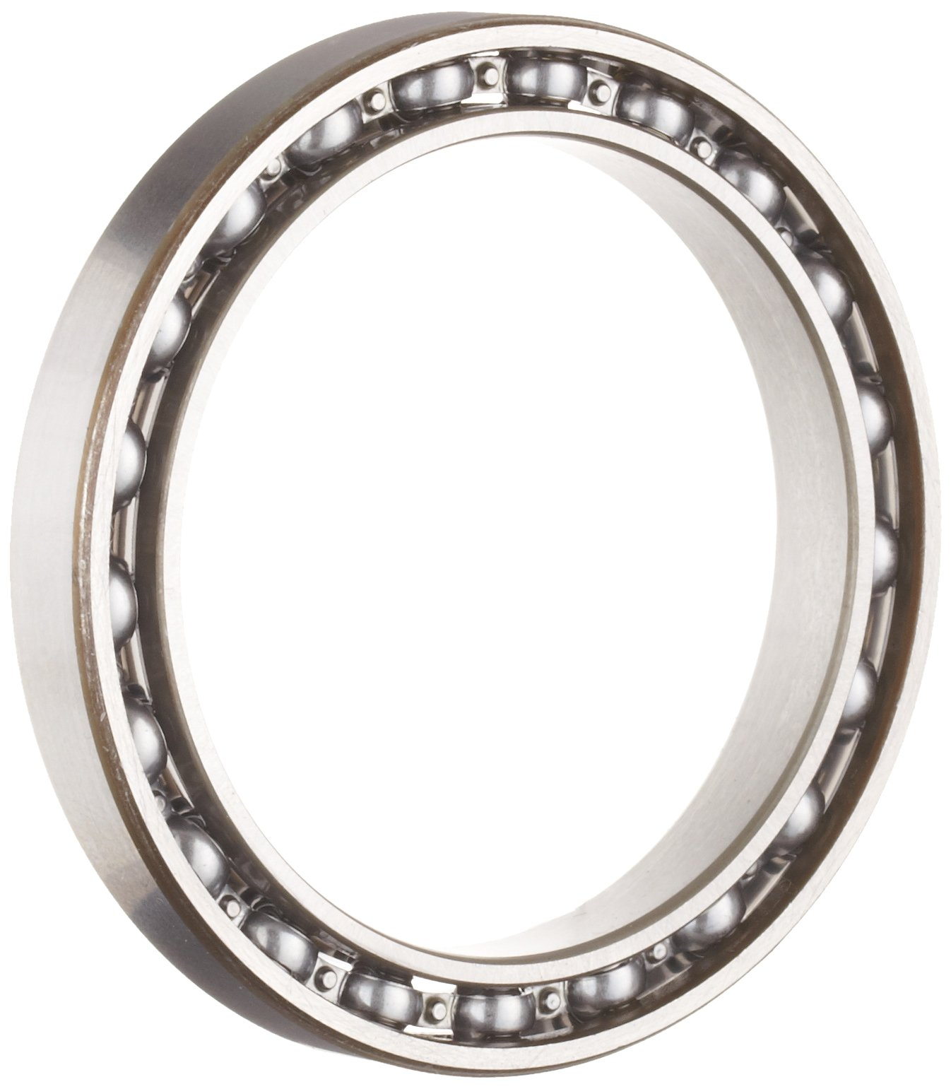 NSK 6822 Deep Groove Ball Bearing, Single Row, Open, Pressed Steel Cage, Normal Clearance, Metric, 110mm Bore, 140mm OD, 16mm Width, 4300rpm Maximum Rotational Speed, 32500N Static Load Capacity, 28100N Dynamic Load Capacity