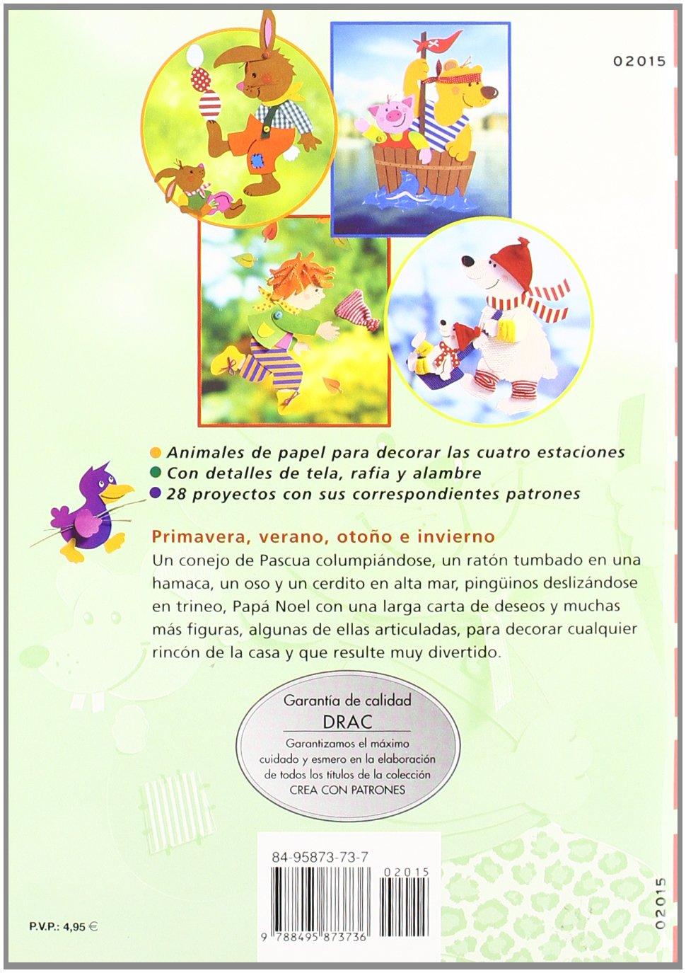 Animales Para Las 4 Estaciones (Spanish Edition): Birgit ...