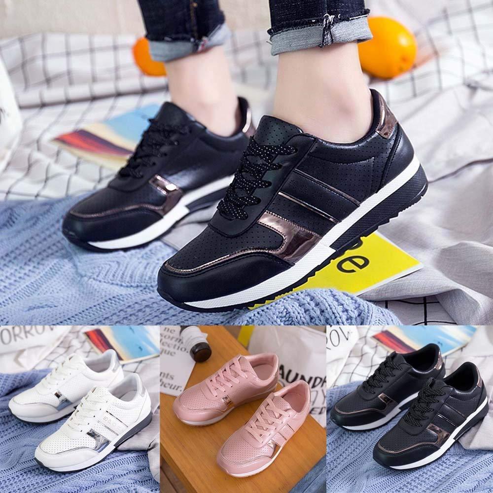 Zapatillas de Running para Mujer,JiaMeng Moda Casual Zapatos para Correr Zapatos de Viaje Estudiante Zapatillas de Deporte Respirables: Amazon.es: Ropa y ...