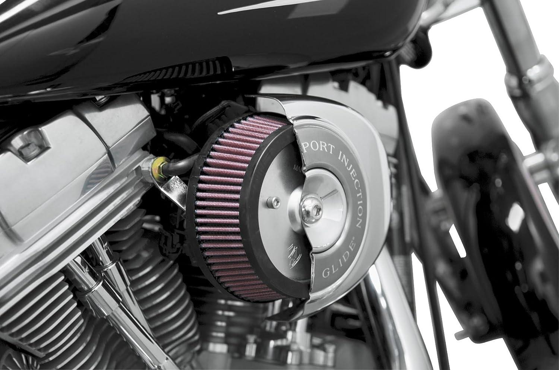 Arlen Ness Big Sucker I cromato filtro Harley Davidson Dyna 08-16 cover OEM
