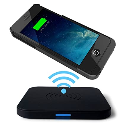 iphone wireless charging. choetech qi wireless charger for iphone 5 / 5s with micro usb port(wireless charging iphone