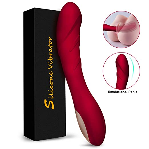 G Spot Dildo Vibrator for Female Vagina Clitoris Anal Stimulator, Quiet Vibrating