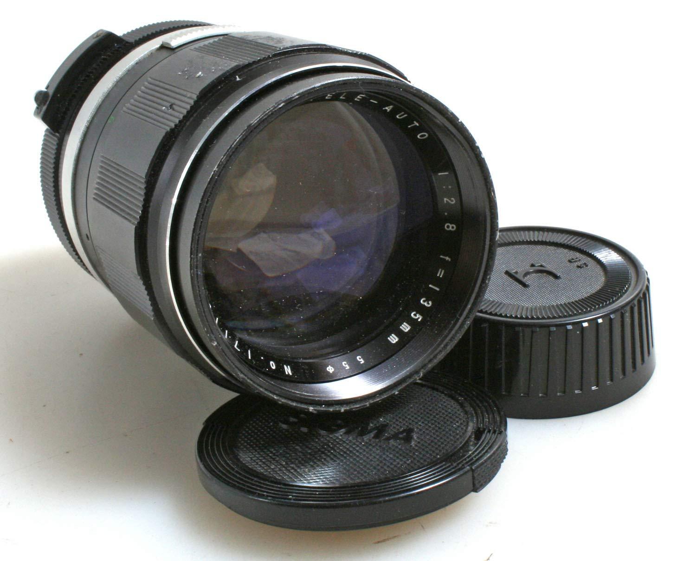 135mm F2.8カメラレンズ ミノルタMD//Micro 4/3レンズ用   B07JZ5VTDY