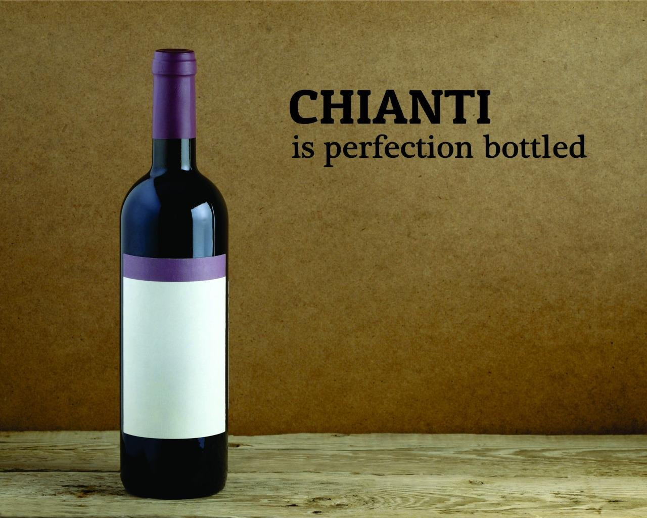 Peel /& Stick Wall Sticker Chianti is Perfection Bottled Kitchen Quote Color Black Size 6 Inches x 24 Inches Design with Vinyl Moti 2586 1 Decal