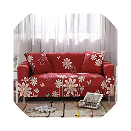 Amazon.com: Slipcover Stretch Fabric Sofa Sets All-Inclusive ...