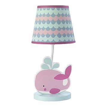 Amazon.com: Bedtime Originals Azúcar Reef lámpara con sombra ...