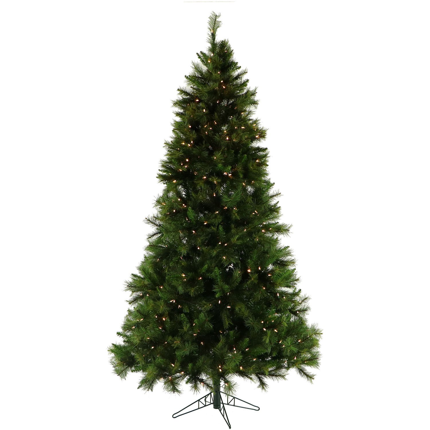 Amazon.com: Fraser Hill Farm Canyon Pine Christmas Tree with Clear ...