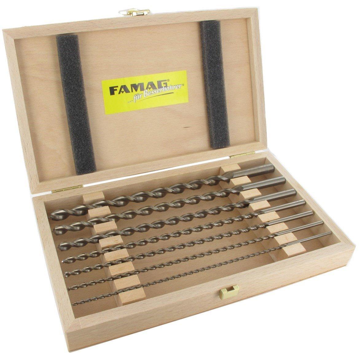FAMAG Holzspiralbohrer HSS-G lang 7x250x315 S=7