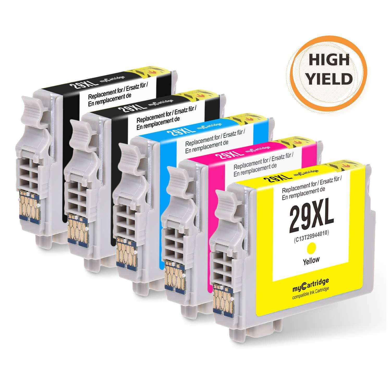 MyCartridge 5 Compatible Epson 29XL Cartucho de Tinta para Epson ...