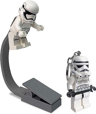 Lego Star Wars Stormtrooper Keychain Light and USB Book Light Bundle