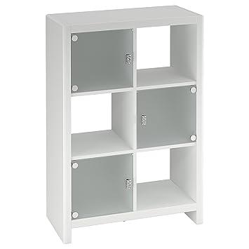 kathy ireland office by bush furniture bookcase plumeria white bush office furniture amazon