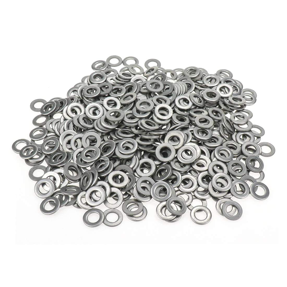 12mm OD x 6mm ID Pack of 500 Dasunny M6 1//2inch x 1//20inch Non-Slip Flat Washer 304 Stainless Steel