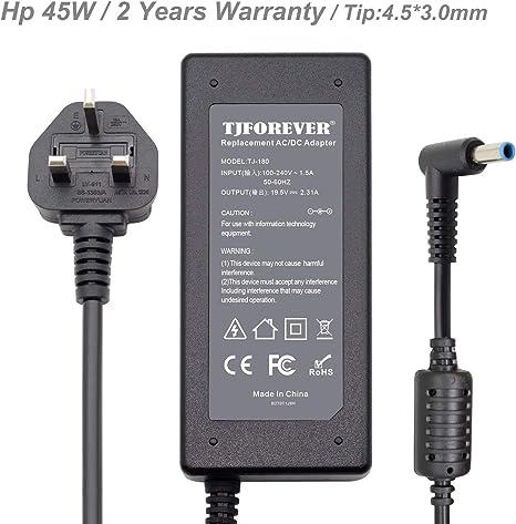HP 45W Laptop AC Adapter Power Supply