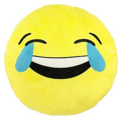 Amazon Tears Of Joy Emoji Pillow 9 Smiley Face Emoticon
