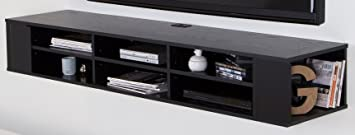 Amazoncom City Life Wall Mounted Media Console 66 Wide