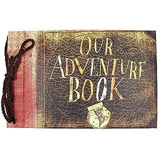 SAIBANG Our Adventure Book Pixar Up Handmade DIY Scrapbook/Photo Album by Saibang