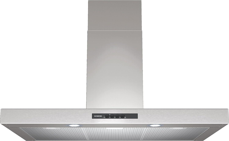 Siemens LC96BA521 - Campana (Canalizado/Recirculación, 620 m³/h, 400 m³/h, LED, Acero inoxidable): Amazon.es: Hogar